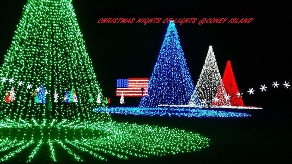 Coney Island Christmas.Christmas Nights Of Lights Returns To Coney Island Amusement